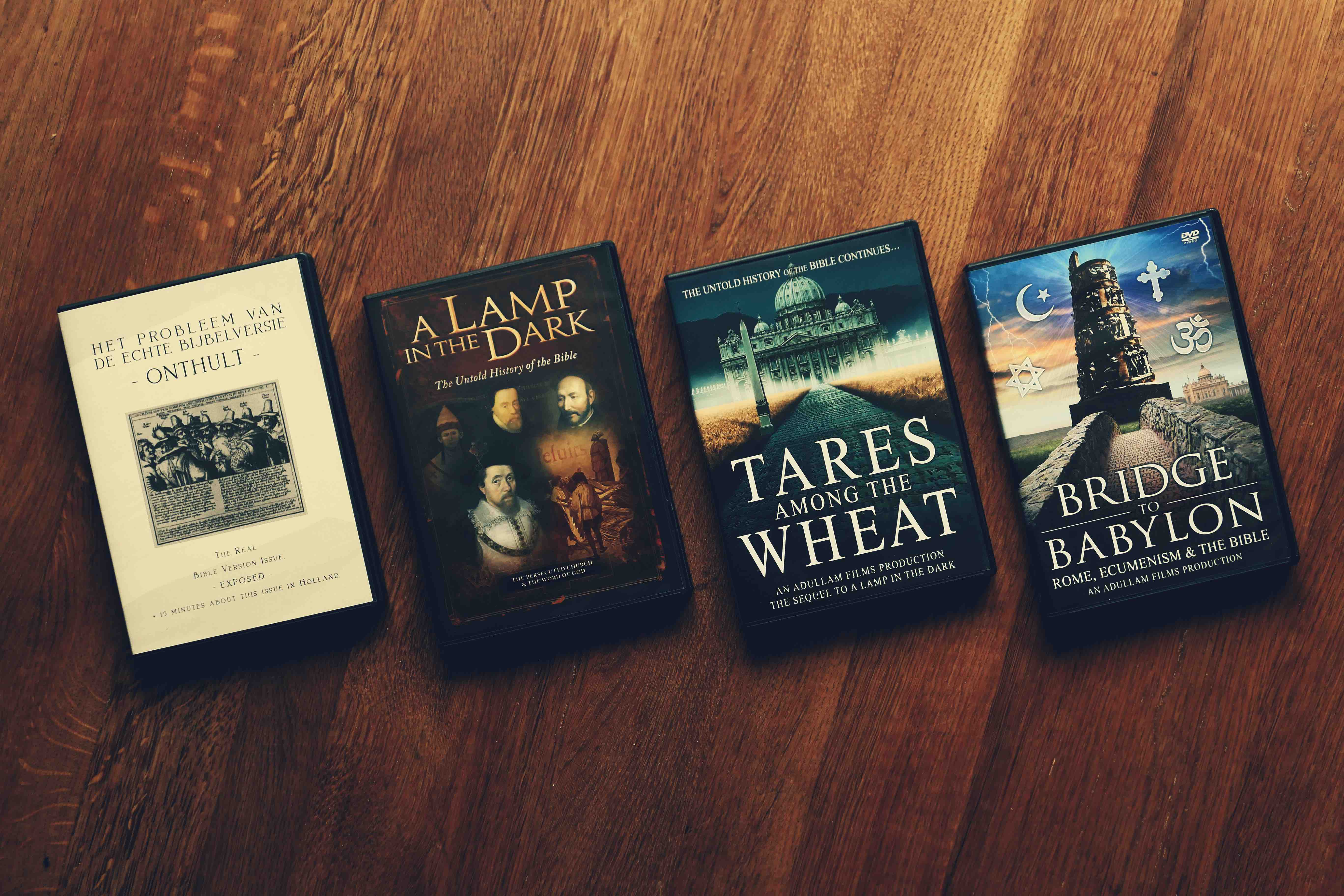 Belangrijke kerkgeschiedenis en documentaires over de Bijbel