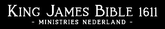 King James Bible 1611 Ministries Logo